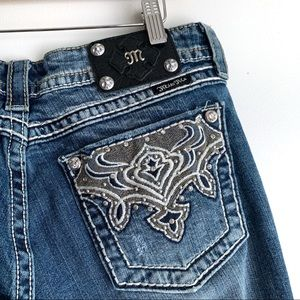 Miss Me Embellished Bootcut Jeans, 31